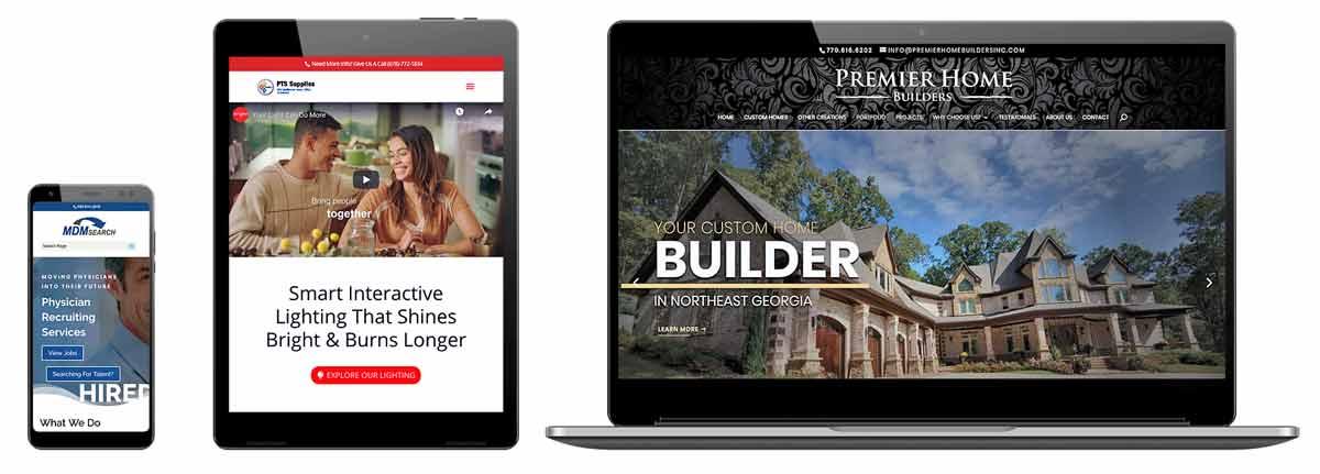 mobile friendly websites Lawrenceville